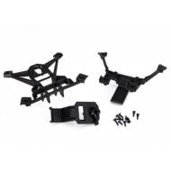 Body mounts front & rear (8)