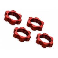 Wheel nuts Splined 17mm Alu. Red (4)