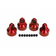 Shock Caps Aluminium Red (4)