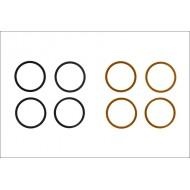 Säätölevy, 10x12mm, 0.1/0.2mm, 4kpl per