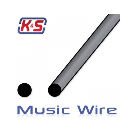 1 Meter Music Wire 4mm (5pcs)