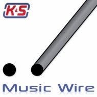 1 Meter Music Wire 5mm (4pcs)