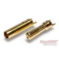 Connector Bullet 4mm 10pair