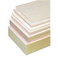 Balsa Sheet 10 x 100 x 1000 mm