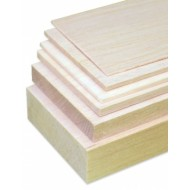 Balsa Sheet 12 x 100 x 1000 mm