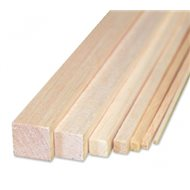 Balsa Strip 4 x 4 x 1000 mm