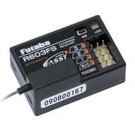 Receiver 3-CH 3PM,3GR,3VC/S,3PK,4PK 2.4G FAAST