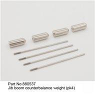 Jib Boom Counterbalance Weight 4pcs