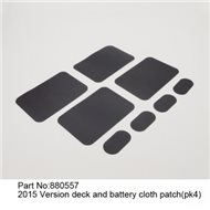 Deck and battery Cloth patch 2015 version