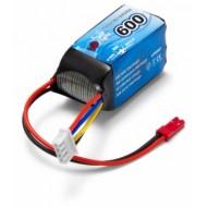 Li-Po Battery 3S 11,1V  600mAh 20C JST-RCY (BEC)