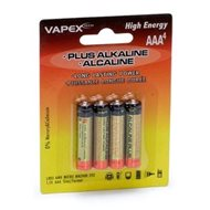 Plus Alkaline batteries AAA 4