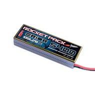 Rocket Pack LiPo IBS, 30C, 7.4V/5400 mAh, rectangular, deans