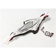 BODY SHELL DRONE RACER G-ZERO WHITE