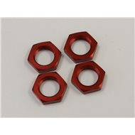 WHEEL NUT (RED) INFERNO 1:8 (4)