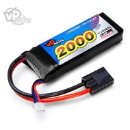 Li-Po Battery 2S 7,4V 2000mAh 25C TRX-connector