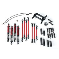 Long Arm Lift Kit TRX-4 Red Complete