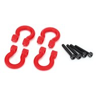 Bumper D-Rings Red (4)