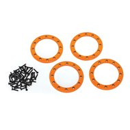 "Alu Beadlock Rings 2,2"" Orange (4)"