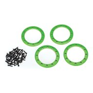 "Alu Beadlock Rings 2,2"" Green (4)"