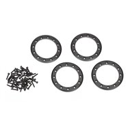 "Alu Beadlock Rings 2,2"" Black (4)"
