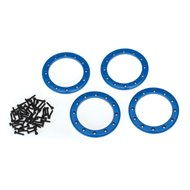 "Alu Beadlock Rings 2,2"" Blue (4)"
