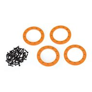 "Beadlock Rings Alu Orange 1.9"" (4)"