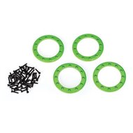 "Beadlock Rings Alu Green 1.9"" (4)"