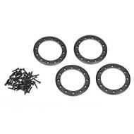 "Beadlock Rings Alu Black 1.9"" (4)"