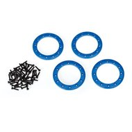 "Beadlock Rings Alu Blue 1.9"" (4)"