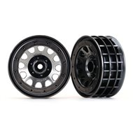 "Wheels Method 105 2.2"" Black Chrome"
