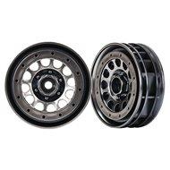 "Wheels Method 105 1.9"" Black Chrome Beadlock"