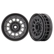 "Wheels Method 105 1.9"" Charcoal Black Beadlock"