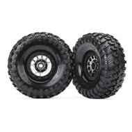 "Tires & Wheels 1.9"" Canyon Trail / Method 105 Black Chrome"