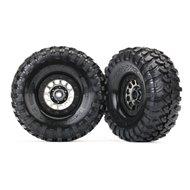 "Tires & Wheels 1.9"" Canyon Trail / Method 105 Black Chrome"