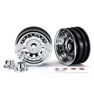 "Wheels Chrome 1.9"" for 8255A Axle"