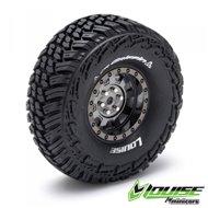 "Tire & Wheel CR-GRIFFIN 1.9"" Black Chrome (2)*"