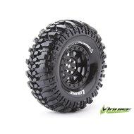 "Tire & Wheel CR-CHAMP 1.9"" Black (2)"