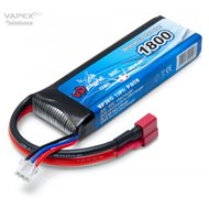 Li-Po Battery 2S 7.4V 1800mAh 30C T-Connector