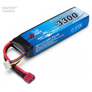 Li-Po Battery 3S 11,1V 3300mAh 25C Deans connector