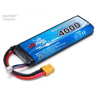 Li-Po Battery 2S 7,4V 4000mAh 25C XT60-connector