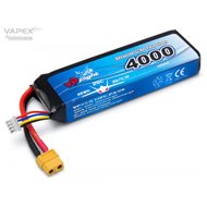 Li-Po Battery 3S 11,1V 4000mAh 30C XT60-Connector