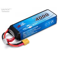 Li-Po Battery 4S 14,8V 4000mAh 25C XT60-Connector
