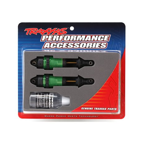 Shocks Green GTR Long without springs (2)