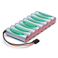 Transmitter battery NiMH 9.6V 2100mAh