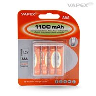 Vapex AAA/R3 Battery NiMH 1100mAh 4pcs