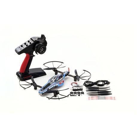 DRONE RACER B-POD ELECTRIC BLUE READYSET