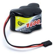Receiver battery NiMH 6,0V 1600mAh Hump