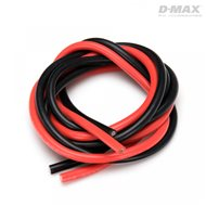 Wire Red & Black 10AWG D3.5/5.7mm x 1m