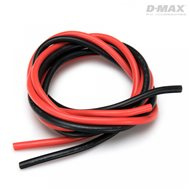 Wire Red & Black 12AWG D2.8/4.6mm x 1m
