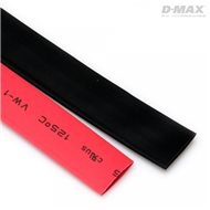 Heat Shrink Tube Red & Black D9mm x 1m